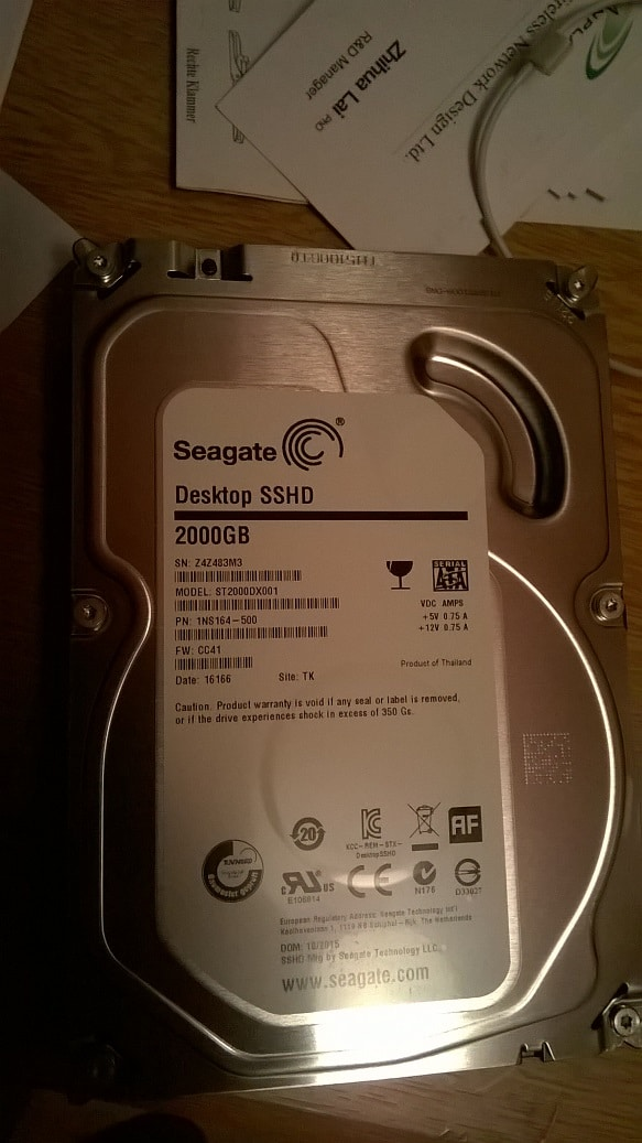 Review of Seagate 2TB Hybrid SSHD Hard Drive   Technology of