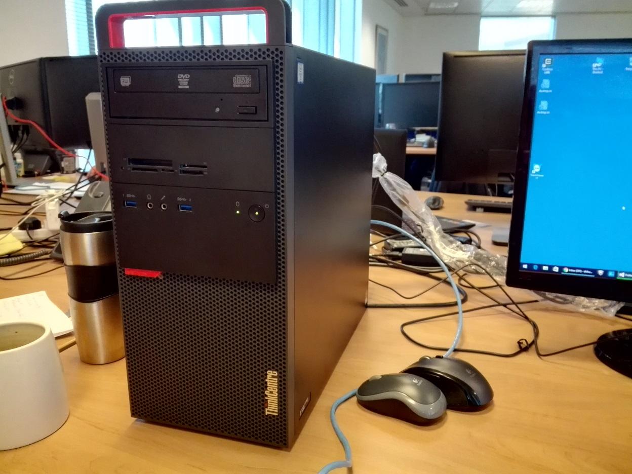 公司给我批了新电脑 Thinkcenter M900 小赖子的英国生活和资讯